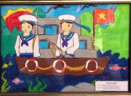 Cuộc thi vẽ tranh về chú bộ đội biển đảo